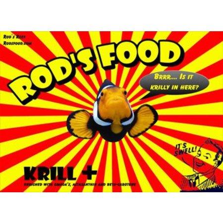 Rod's Krill + 6oz