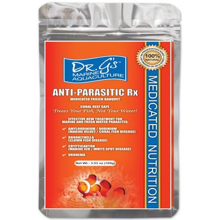 Dr. G's Anti-Parasitic Flat Pack Frozen 3.5oz