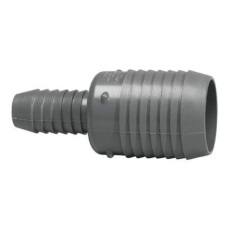 "3/4"" to 1"" Hose Barb Union"