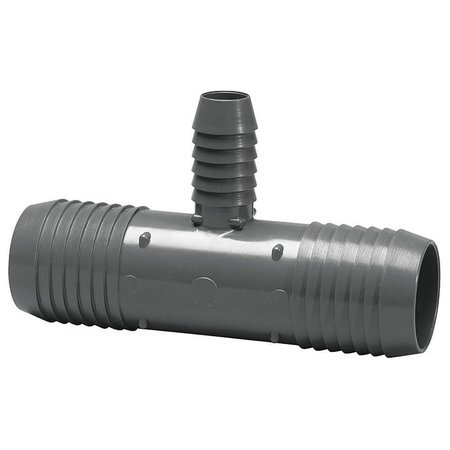 "3/4"" to 1/2"" Tee Hose Barb"