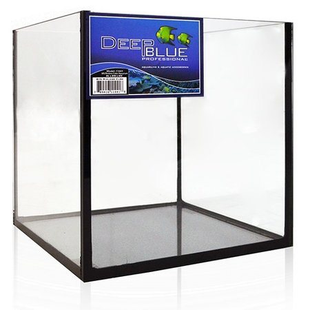 Deep Blue 8x8x8 Rimless Tank
