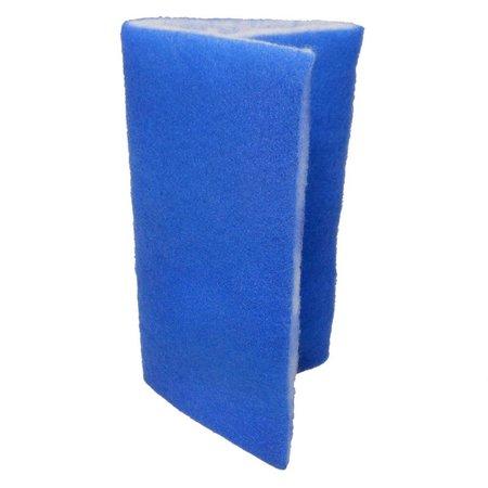 "Seapora Blue Bonded Filter Pad 24""x15"""