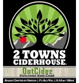 2 Towns Ciderhouse Out Cider ABV: 6% 6 pack