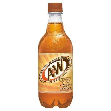 A&W Cream Soda 20 OZ