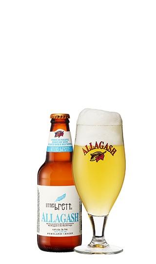 Allagash Brewing Co. Little Brett ABV: 4.8% 4 Pack