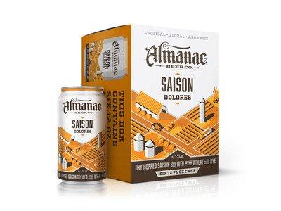 Almanac Brewing Co. Saison Dolores ABV: 5.5%  6 Pack