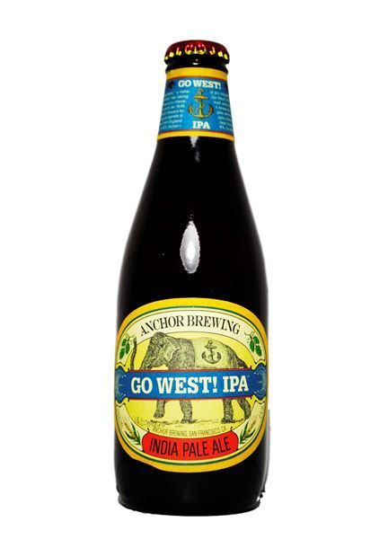 Anchor Brewing Co. Go West! IPA ABV: 6.7% 12 Pack