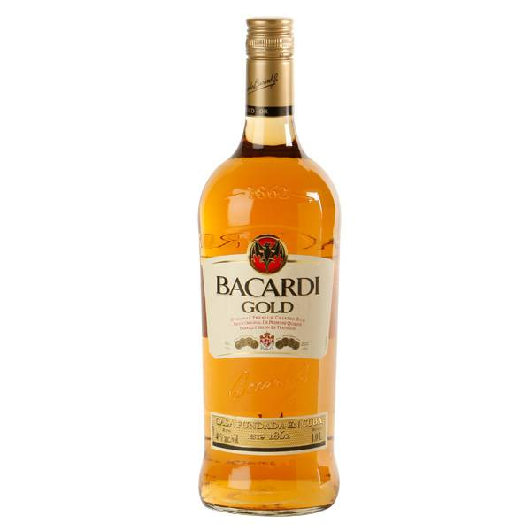 Bacardi Gold Rum Proof: 80  375 mL