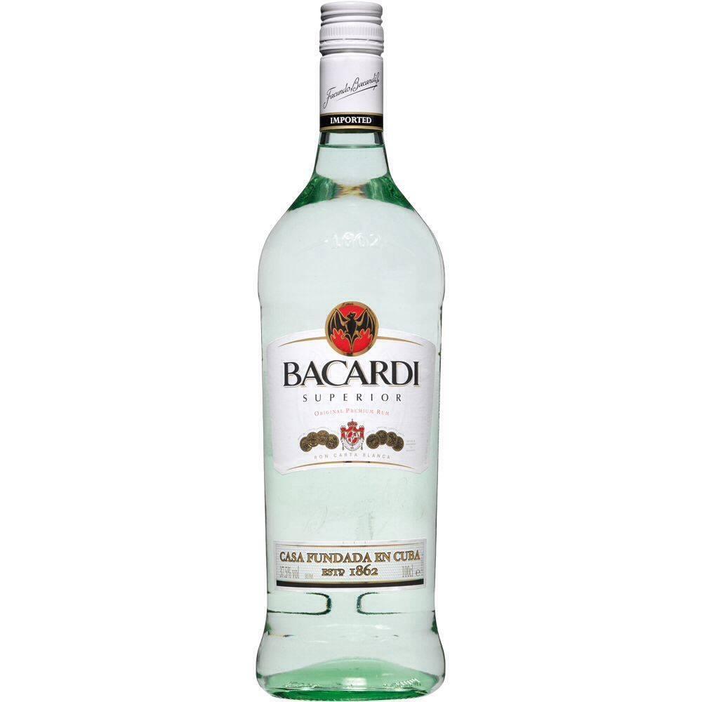 Bacardi Superior Rum Proof: 80  200 mL