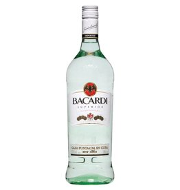 Bacardi Superior Rum Proof: 80  375 mL