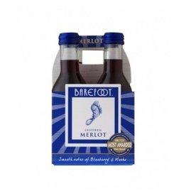 Barefoot Merlot ABV: 13.5%  4 Pack