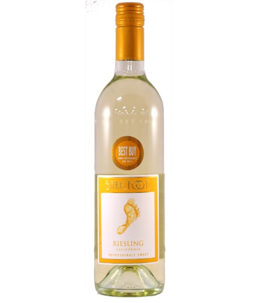 Barefoot Riesling 2014 ABV: 8%  750 mL