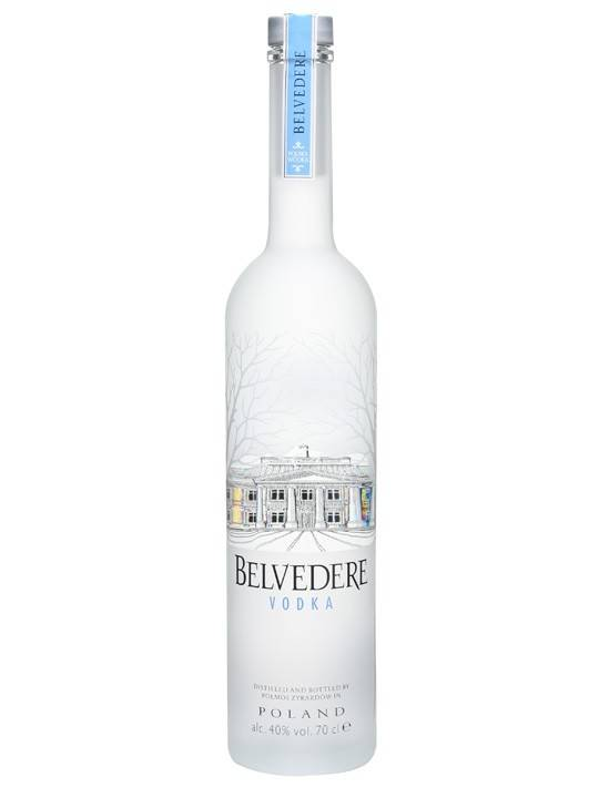 Belvedere Vodka Proof 40  375 mL