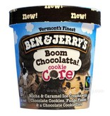 Ben & Jerry's Boom Chocolatta! Cookie Core Ice Cream 1 Pt