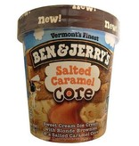 Ben & Jerry's Salted Caramel Ice Cream 1 Pt