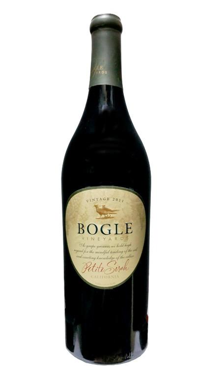Bogle Petite Sirah 2015 ABV: 13.5%  750 mL