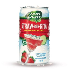Bud Light Strawber Rita ABV: 8%  25 oz