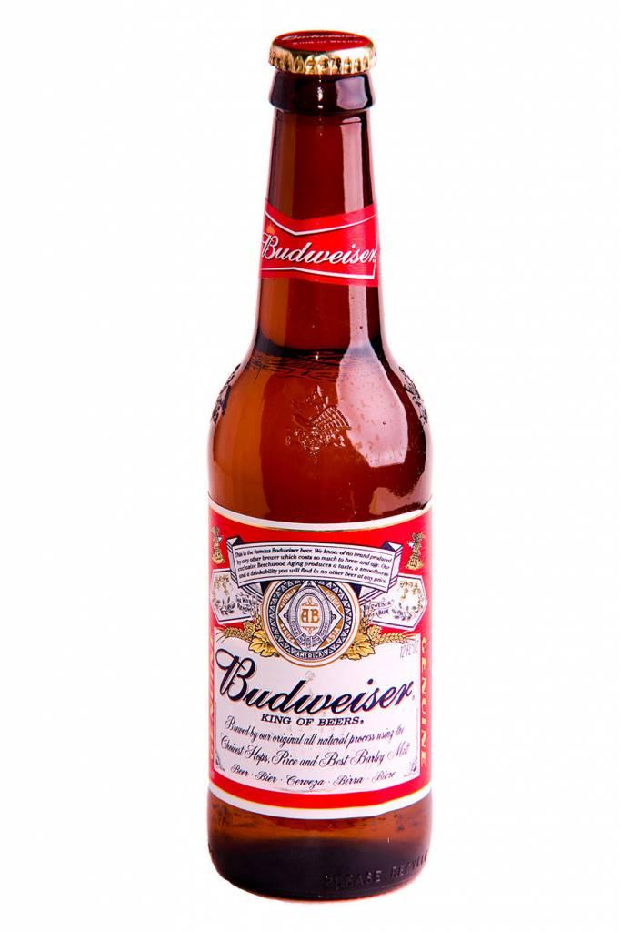 Budweiser Can ABV: 5%  12 Pack
