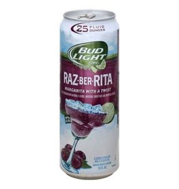 Bud Light Raz-Ber-Rita ABV: 8%  25 OZ