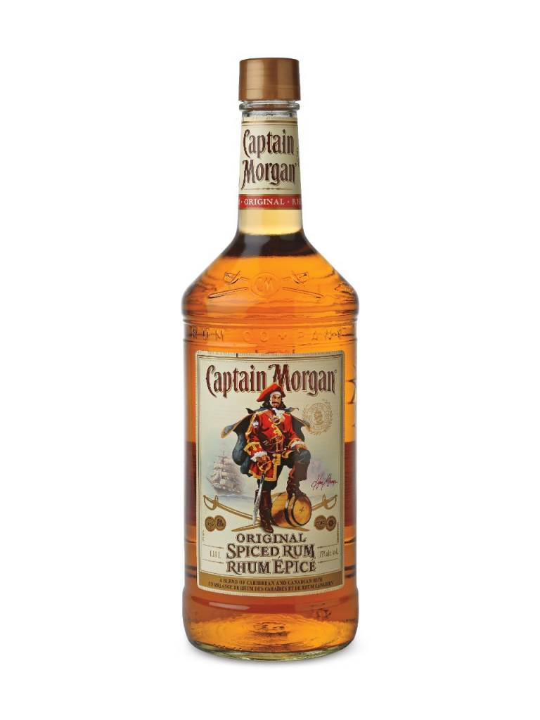 Captain Morgan Spiced Rum Proof: 70  750 Ml