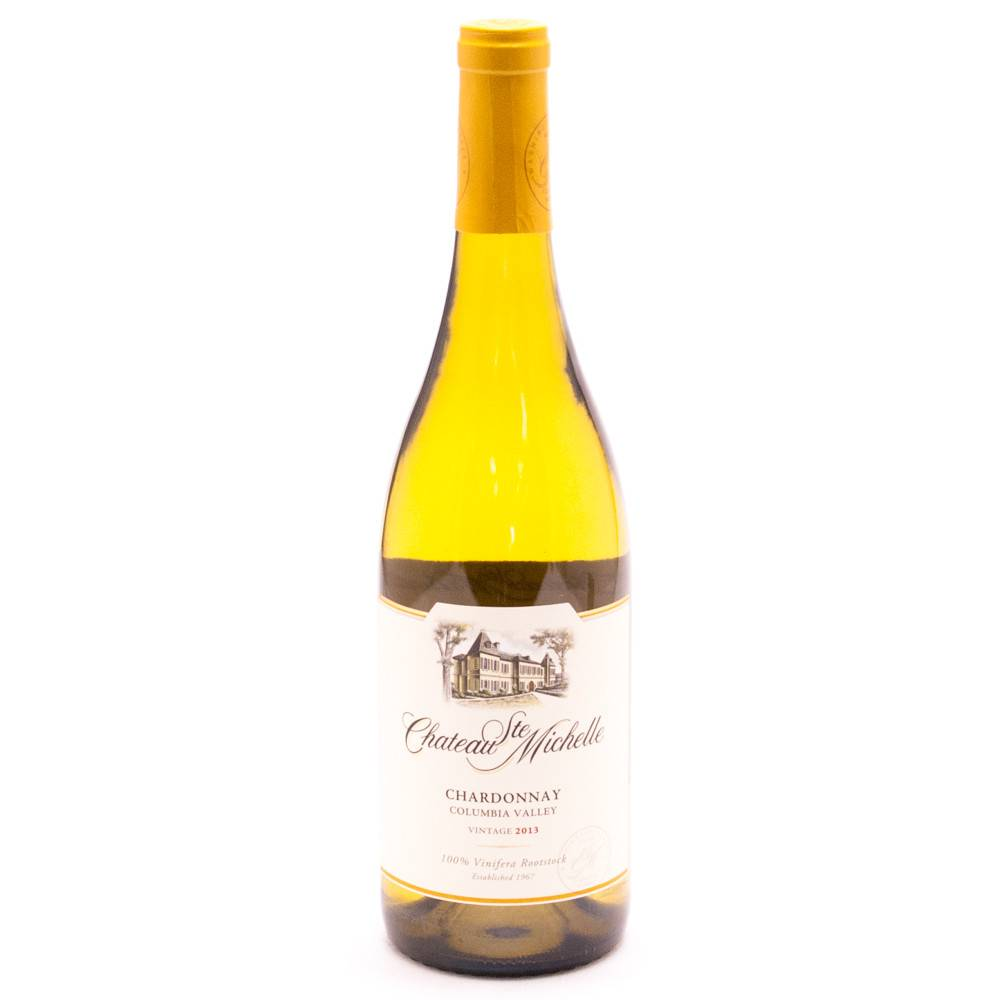Chateau Ste. Michelle Chardonnay 2015 ABV: 14%  750 mL