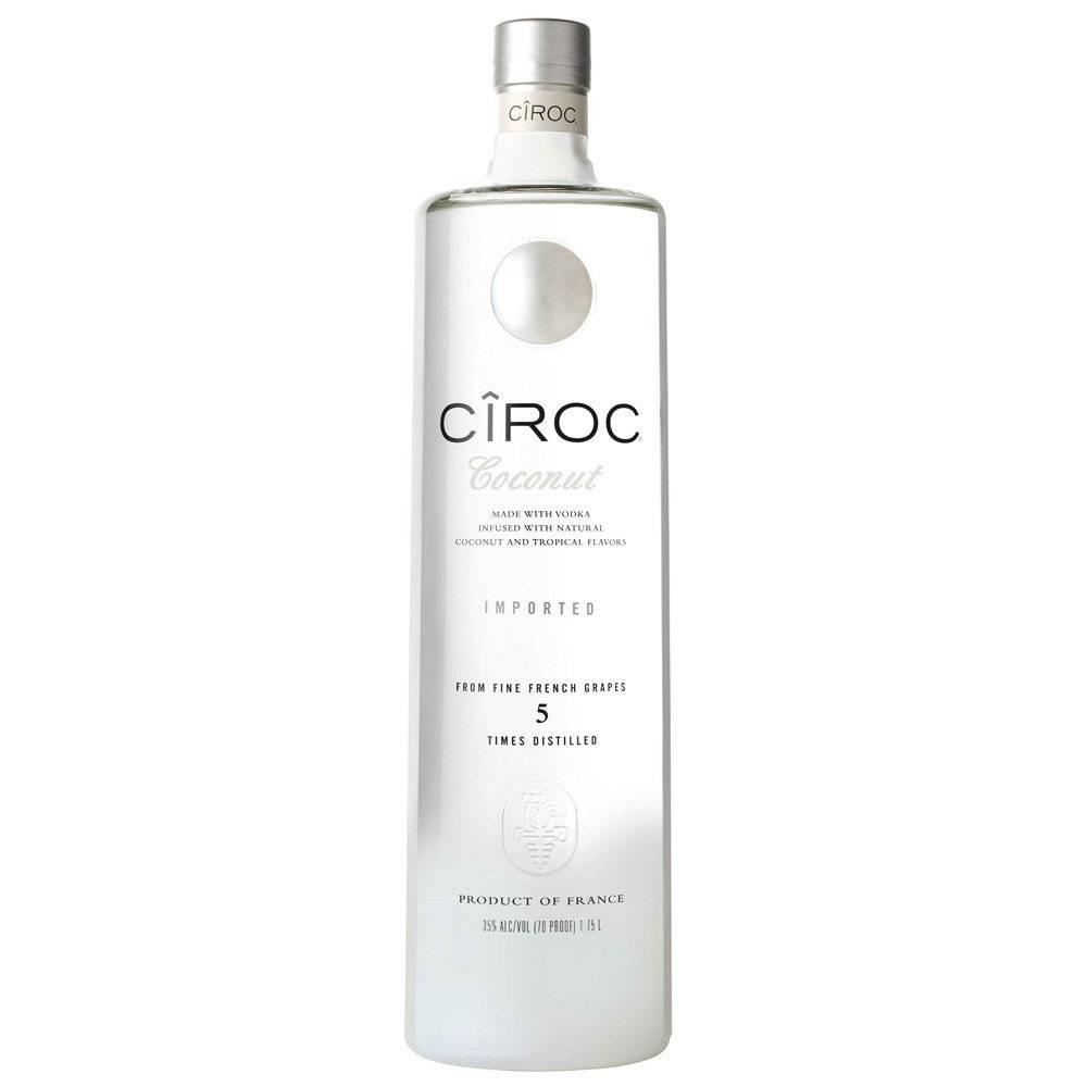 Ciroc Coconut Vodka Proof: 80  750 ml