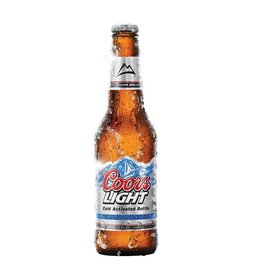 Coors Light Can ABV: 4.2%  12 pack