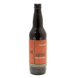 Deschutes Brewery The Abyss Reserve ABV: 12.2%  22 OZ