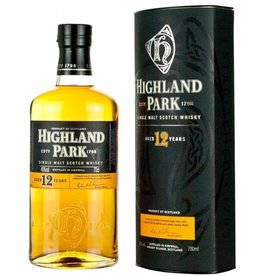 Highland Park 12 Year Old Single Malt Scotch Whiskey Proof: 87  750 mL