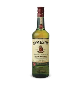 Jameson Irish Whiskey Proof: 80  750 mL