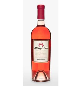 Menage a Trois Rose 2016 ABV: 13.2%  750 mL