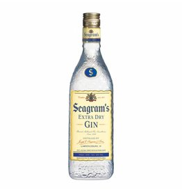 Seagram's Extra Dry Gin Proof: 80  750ml