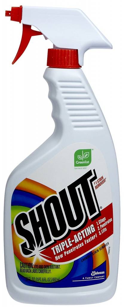 Shout Stain Remover Logo