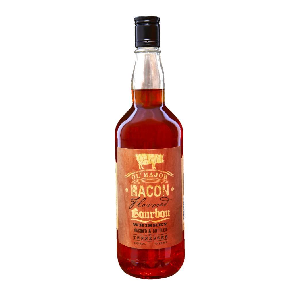 OL' Major Bacon Bourbon ABV 35% 750mL