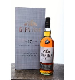 Glen Oak 17 Year Scotch ABV 40% 750mL
