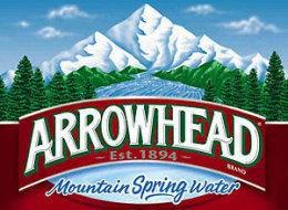 Arrowhead Sparkling Raspberry Lime Water 1L