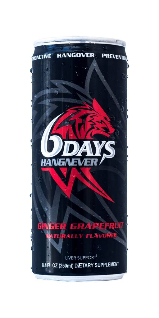 6Days Hangnever Dietary Supplement 8.4 OZ