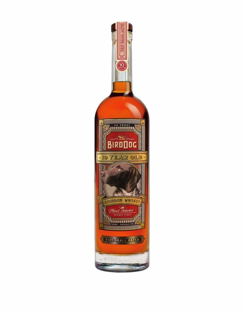 Birddog  10 Years OLD Bourbon Whiskey ABV 45% 750 ML