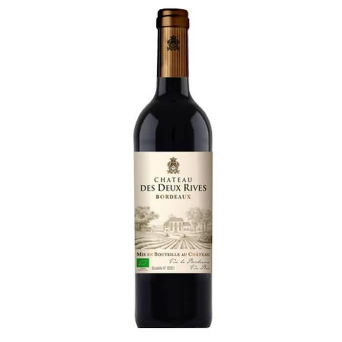 Chateau Des Deux Rives Bordeaux 2015 ABV 13% 750 ML