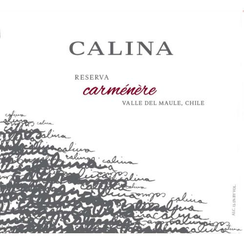 Calina Carmenere Reserva 2016  ABV 13.5% 750 ML
