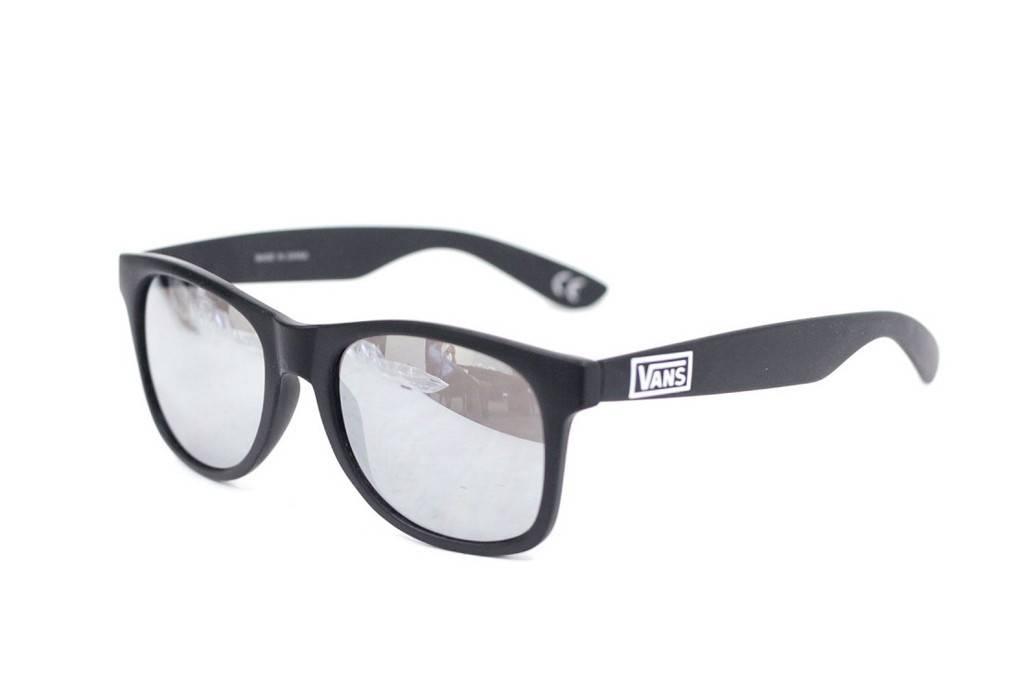 vans sunglasses matte black