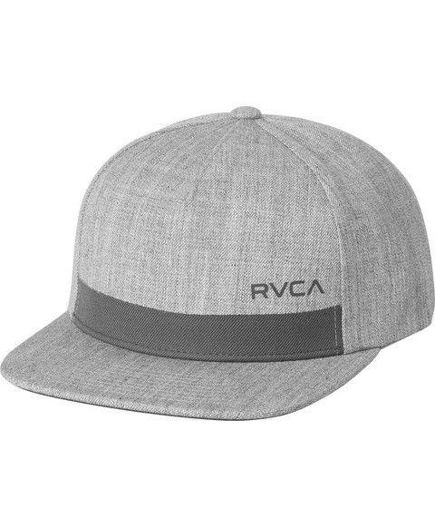 uk availability 4e6f8 26c16 ... free shipping rvca rvca sea drift snapback heather grey 89a14 379bc