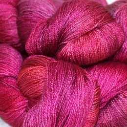 fyberspates Gleem Lace Hand Dyed