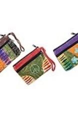 Fair Trade Retro Cotton Zip Bag