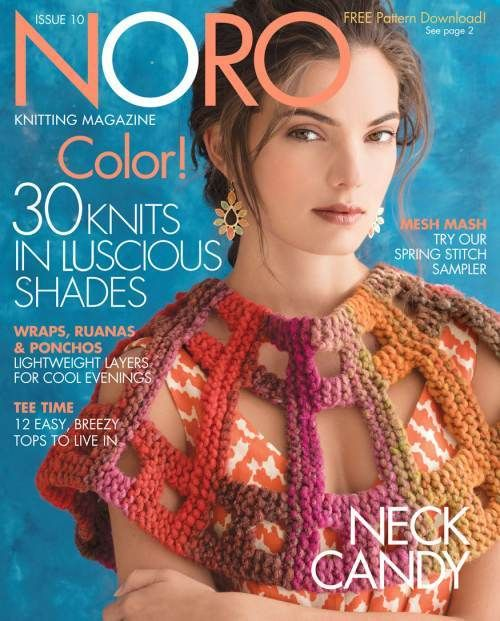 Knitting Fever Noro : Knitting fever noro magazine issue ss