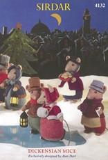 Sirdar 4132 Sirdar Dickensen Mice Toy