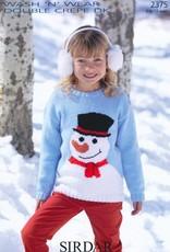 Sirdar 2375 Sirdar Snowman Kids Pullover