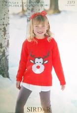 Sirdar 2373 Sirdar Rudolph Kids Pullover