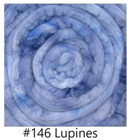 frabjous fibers BFL Top 4 oz Braid 146 Lupines