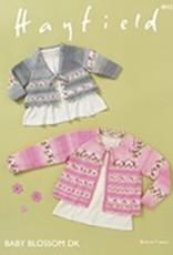 Hayfield 4842 Baby Blossom DK Cardigan